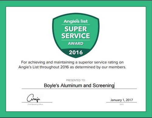 Boyle's Aluminum & Screening- Pool cage screen enclosures